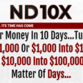 Nicola Delic – ND10X, 10X Your Money In 10 Days
