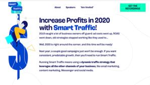 Smart Marketer – Smart Traffic Live, 3 Day Virtual Summit on Paid Traffic