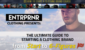 Entrpnr Clothing – How To Start A Clothing Brand Course