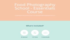 Food Photography School – Essentials Course + Bonus Phone Course