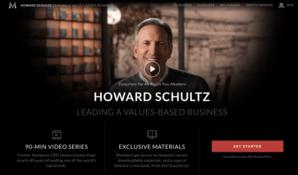 Howard Schultz – Business Leadership MasterClass