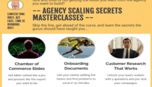Jeff Miller – The Agency Scaling Secrets Masterclasse