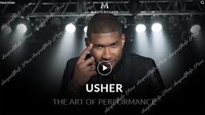 Usher MasterClass – The Art of Performance