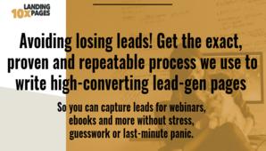 Joanna Wiebe (Copyhackers) – 10X Landing Pages