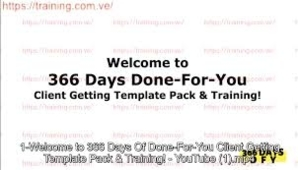 Mike Shreeve – 366 Days of DFY Client Getting (Template Pack)