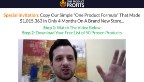 Nick Peroni – One Product Profits
