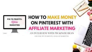 McKinzie Bean – Pin to Profits Affiliate Marketing