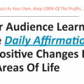 Daily Affirmations PLR Package