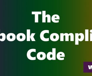 Ed Reay – The Facebook Compliance Code