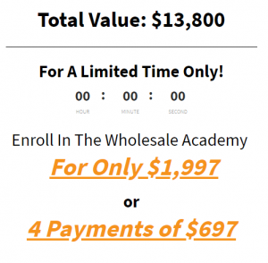 Larry Lubarsky – Wholesale Academy Update 2