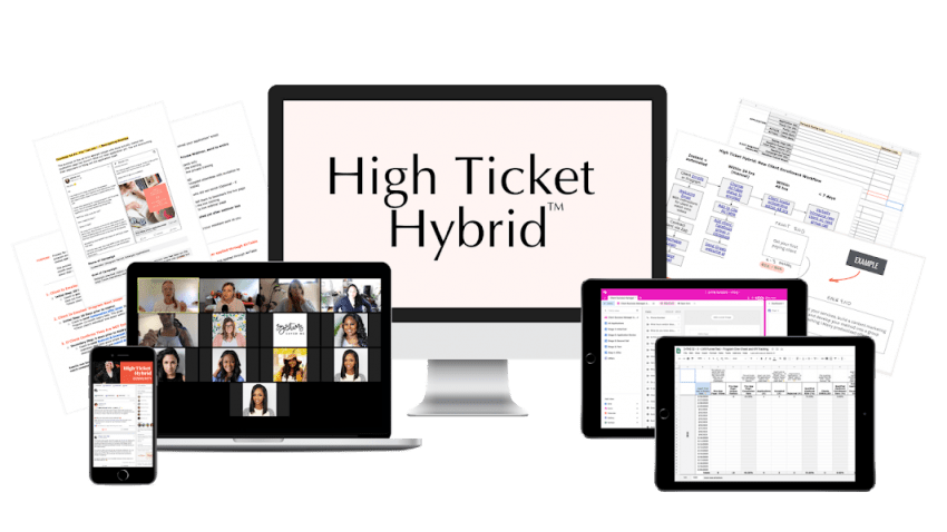 Mariah Coz – High Ticket Hybrid Download