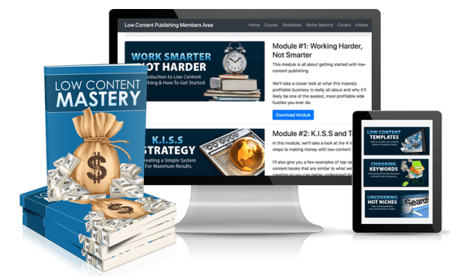 Kate Riley – Low Content Mastery Download