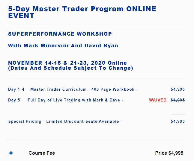 Mark Minervini – 5-Day Master Trader Program ONLINE EVENT Download