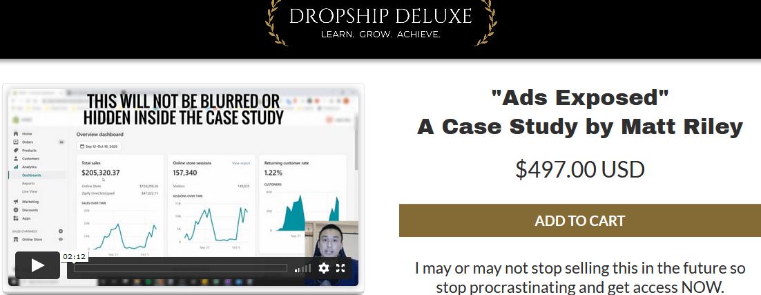 Matt Riley – Ads Exposed Case Study 2021 Download