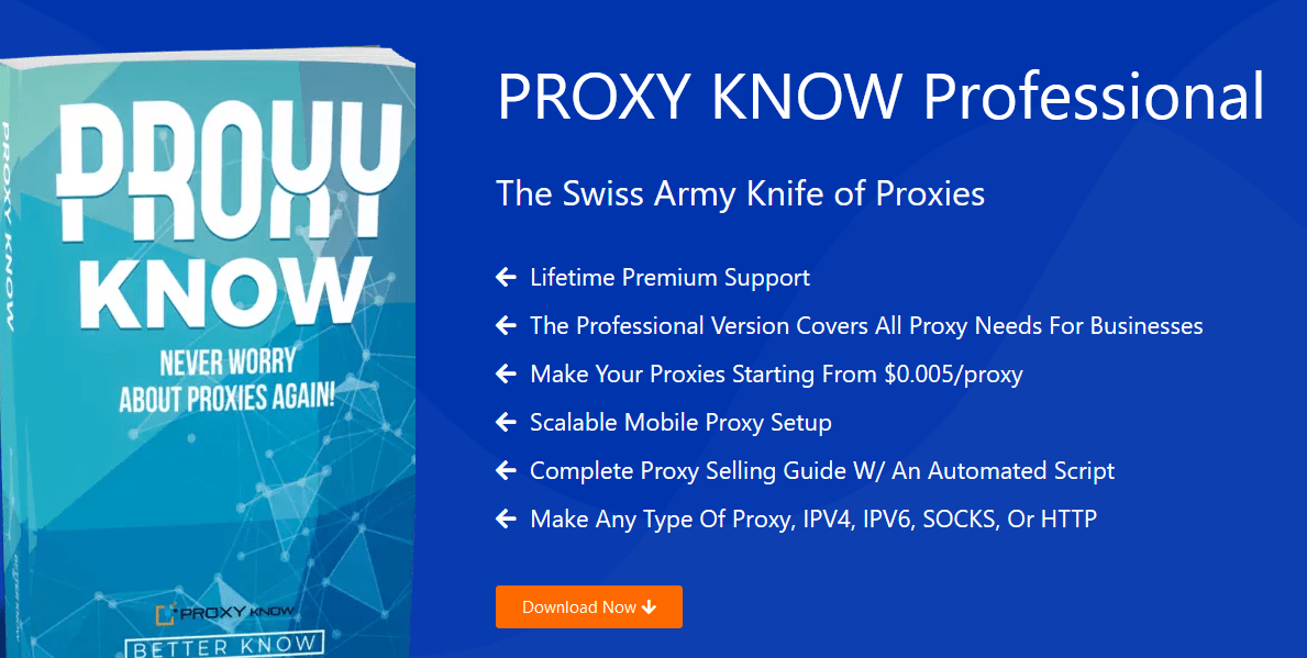 PROXY KNOW 4.0 Professional Download
