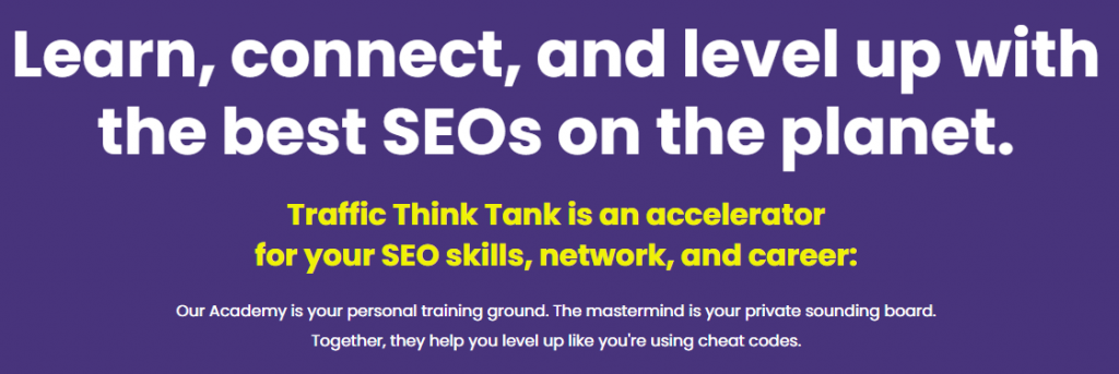 Traffic Think Tank Academy Courses Download